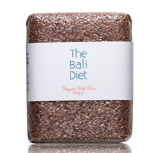 the bali diet organic red rice