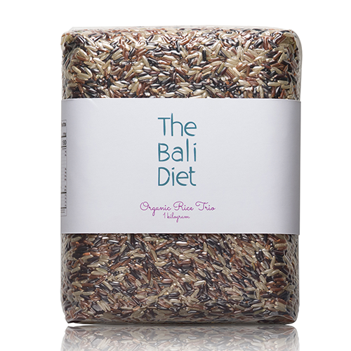 the bali diet organic rice trio