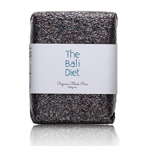 the bali diet organic black rice