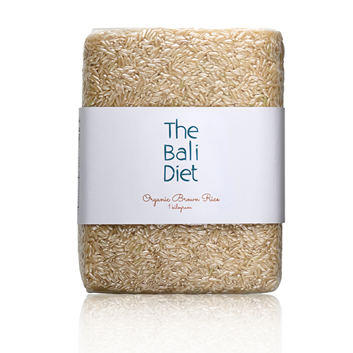 the bali diet organic brown rice