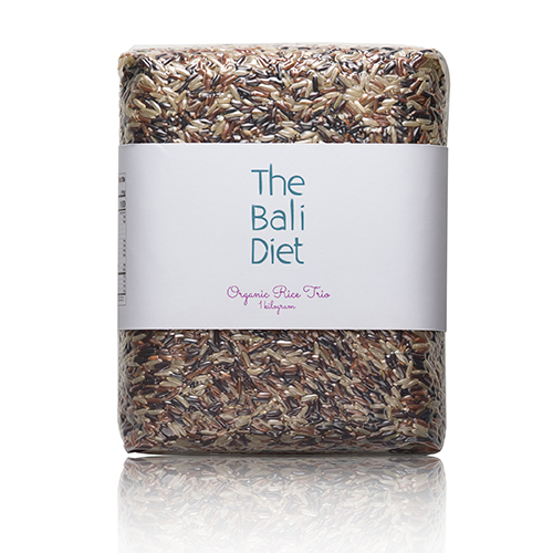 the bali diet organic rice trio x